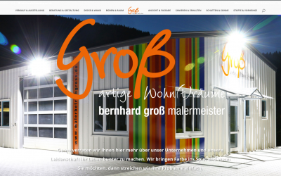 Unsere Homepage …